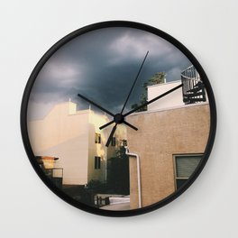 light before the storm Wall Clock