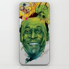 Rey Pele iPhone Skin