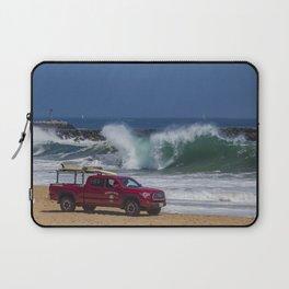 Newport Beach Lifeguard Truck Laptop Sleeve