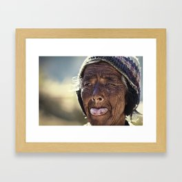 Asia 37 Framed Art Print