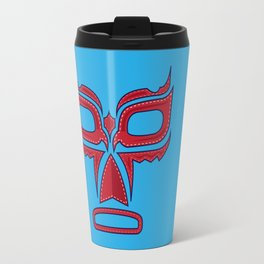 Luchador Mask Good Guy Travel Mug
