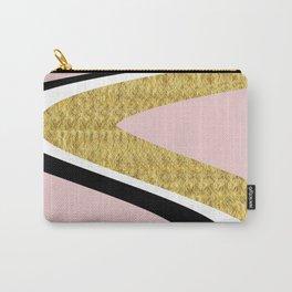 Abstract Blush II #kirovair #design #minimal #society6 #buyart Carry-All Pouch