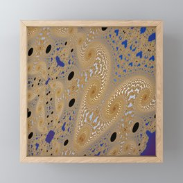 Fractal Abstract 96 Framed Mini Art Print