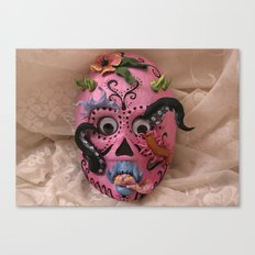hurricane mask Canvas Print