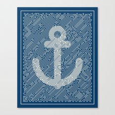 Knot & Anchor Canvas Print