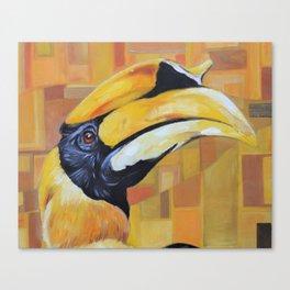 Hercules the Hornbill Canvas Print