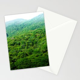 Green Hills of Hakone Stationery Cards