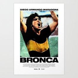 Bronca Art Print