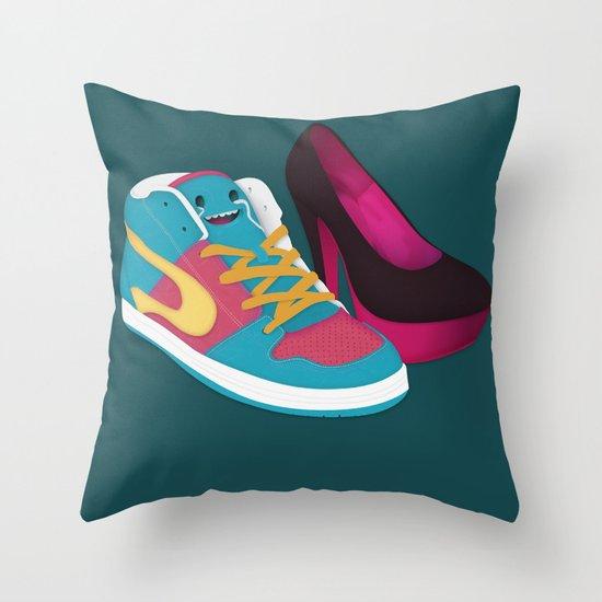 Shoe Lovin' Throw Pillow