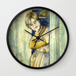 It's Shelley For President Wall Clock