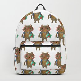Back To School Bear Backpack