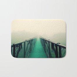 suspension bridge Bath Mat