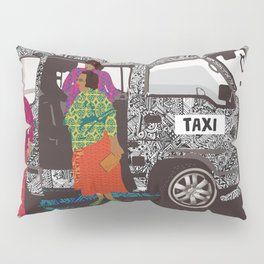 taxi in africa Pillow Sham
