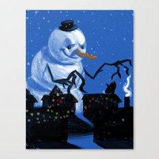 Snowzilla Canvas Print