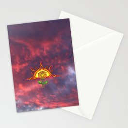 Tudor's Sunrise Stationery Cards