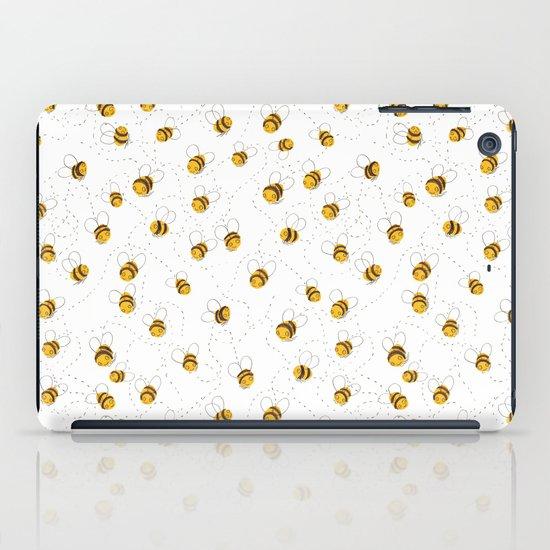 Busy buzzy bees iPad Case