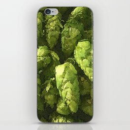 Fresh Cascade Hops iPhone Skin