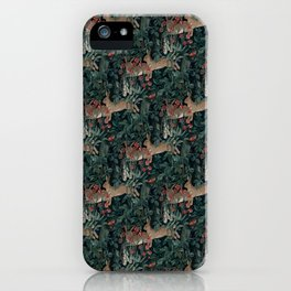 Bunny medieval tapestry iPhone Case
