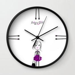 Leggy Girl Wall Clock