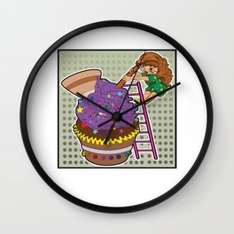 big muffin Wall Clock