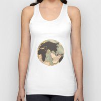 earth Tank Tops featuring earth by Sébastien BOUVIER