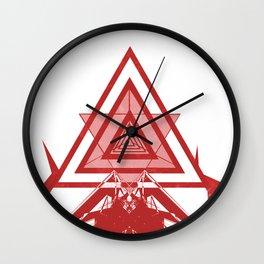 BO.RG/RED Wall Clock