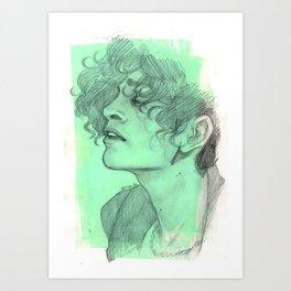 Bubblegum Punk Art Print