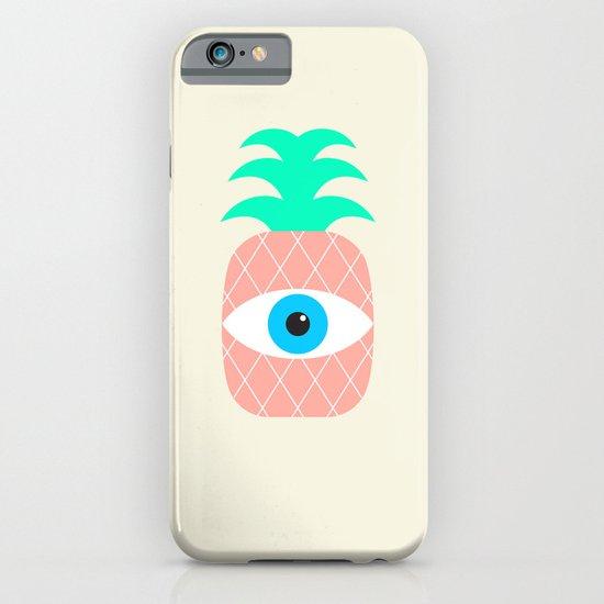 P[eye]NEAPPLES iPhone & iPod Case