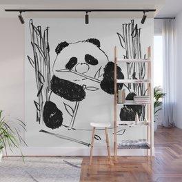 Fat Panda Wall Mural