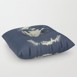 MOON CLIMBING Floor Pillow