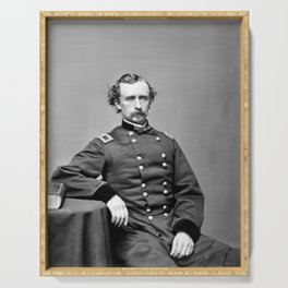 General Custer Portrait - 1864 Serving Tray