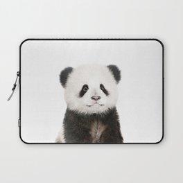 Baby Panda Portrait Laptop Sleeve