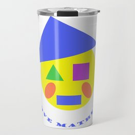 Mister Mathematic Travel Mug