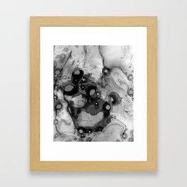 INKWHIRL 01 Framed Art Print