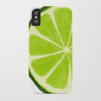 lime iPhone & iPod Cases featuring Lime by Linde Townsend