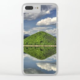 Summer reflections Clear iPhone Case