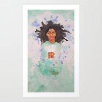 Rue burial Art Print