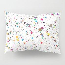 Confetti Paint Splatter Pillow Sham