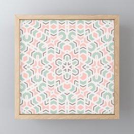 Faithful Kaleidoscope Mandala #kaleidoscope #pattern Framed Mini Art Print