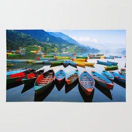 Peacefull Lake Rug
