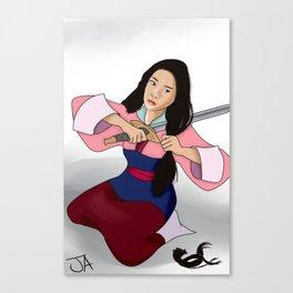 Warrior Kira Canvas Print
