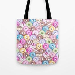 Donut Invasion Tote Bag