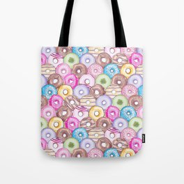 Donut Invasion Tote Bag