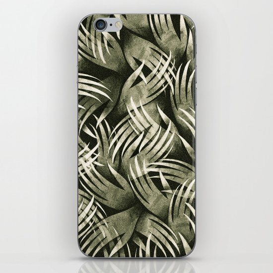 In The Icy Air of Night - Silver Screen Edition iPhone Skin