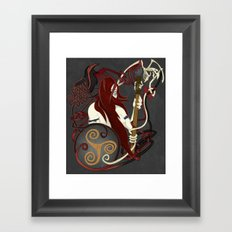 The Great Queen Framed Art Print