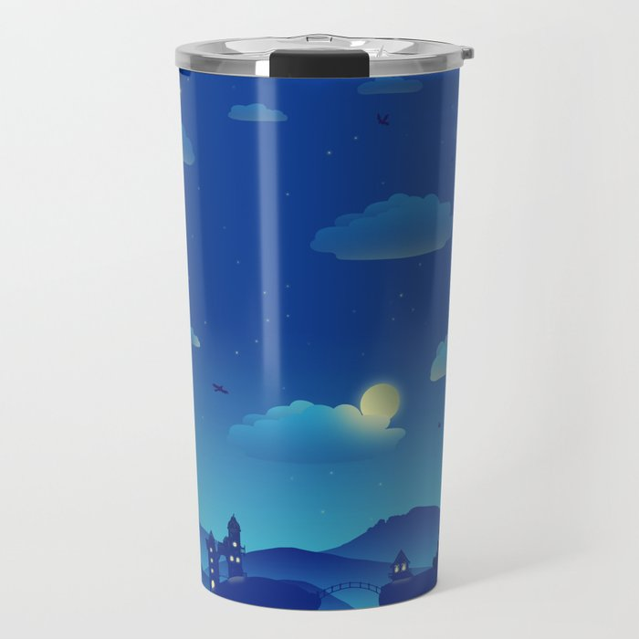 Fairytale Dreamscape Travel Mug