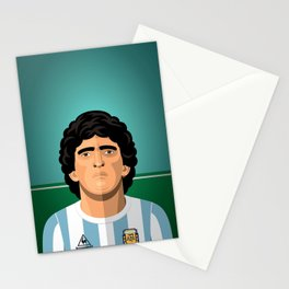 Maradona 1986 Stationery Cards