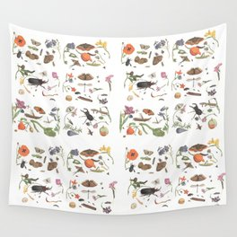 Common place miracles -Natural History Part 1 Wall Tapestry