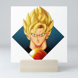 Super Saiyan DB Mini Art Print