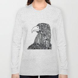 Zentangle eagle Long Sleeve T-shirt